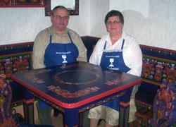 Schneider Péterné – bútorfestő, népművészet