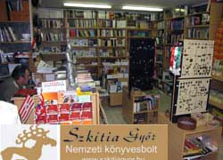 Szkítia Győr – Nemzeti Könyvesbolt