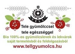 Tell – Bio 100 százalékos gyümölcslevek és lekvárok