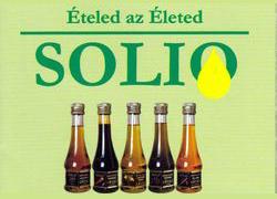 SOLIO – hidegen sajtolt ét- és salátaolaj család
